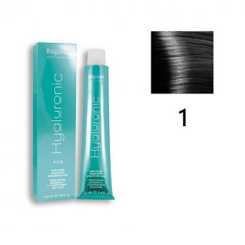 1,0 (К) Крем-краска Hyaluronic acid чёрный 100 мл.