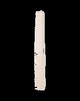 2461 (К) Расческа парикмахерская «Polycarbonate» 220*28 мм